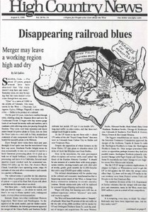 Disappearing railroad blues