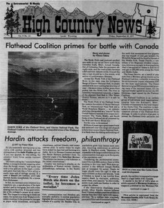 Flathead Coalition primes for battle with Canada