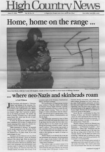 Home, home on the range ... where neo-Nazis and skinheads roam