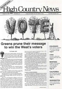 Greens prune their message to win the West's voters