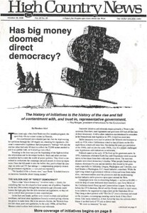 Has big money doomed direct democracy?