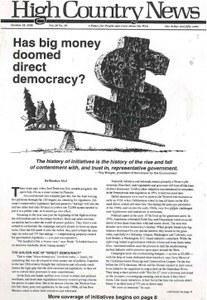 Has big money doomed direct democracy?