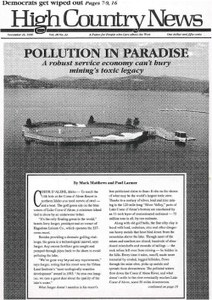 Pollution in paradise
