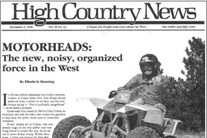 Motorheads: The new, noisy, organized force in the West