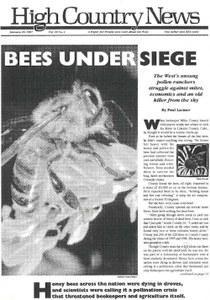 Bees under siege