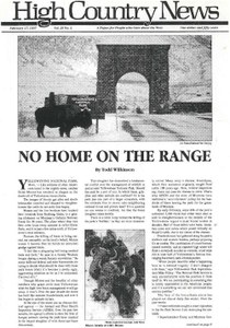 No home on the range