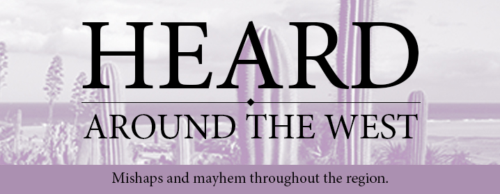 Heard around the West logo
