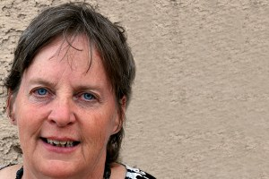 A brave woman now runs a border town